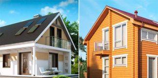 Будинок з каркасу чи бруса - що краще для постійного проживання