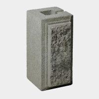 Блок колотий четвертинка