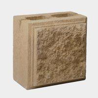 Блок колотий половинка