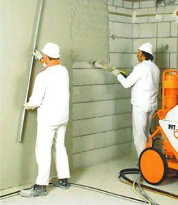 Оштукатурення стін