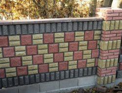 Декоративний колотий блок
